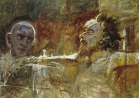 Николай Николаевич Ге. Христос и разбойник