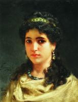 Генрих Ипполитович Семирадский. Portrait of young Roman women