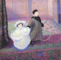 Тед Батлер. Дети художника