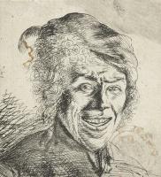 Ян Ливенс. Портрет смеющегося молодого человека