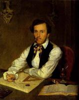 Павел Андреевич Федотов. Портрет архитектора