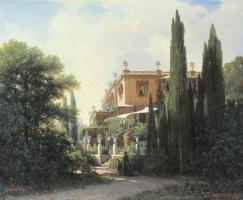 Vasily Vereshchagin. The Livadia Palace