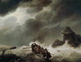 Йоханнес Херманус Куккук. Кораблекрушение