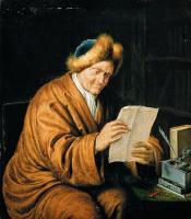 Виллем ван Мирис. Пожилой мужчина