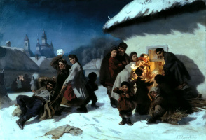 Константин Александрович Трутовский. Колядки в Малороссии