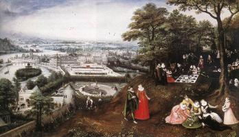 Лукас ван Фалькенборх. Пейзаж весной