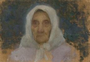 Леонид Осипович Пастернак. Портрет матери
