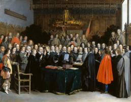 Герард Терборх. Ратификация договора Мюнстера