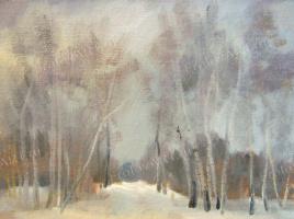 Valery Frolov. Зимний этюд