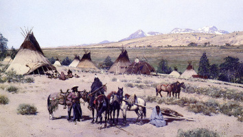 Анри Фарни. Поселения