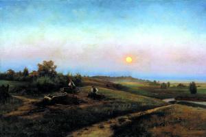 Joseph Evstafievich Krachkovskii. Ukrainian evening