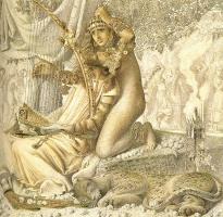 Симеон Соломон. Вавилон был золотой чашею