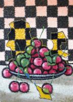 Yuri Vladimirovich Sizonenko. A plate of cherries.