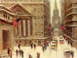 Гай Карлтон Виггинс. Зима в Нью-Йорке