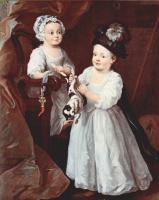 Уильям Хогарт. Портрет леди Мэри Грей и лорда Джорджа Грея