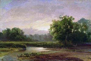 Fedor Alexandrovich Vasilyev. Dawn