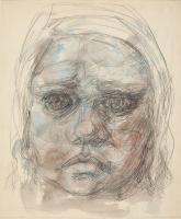 Доротея Таннинг. Голова девочки