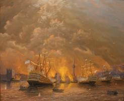 Александр Сергеевич Тербушев. Синопский бой. 1853г.