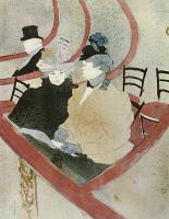 Henri de Toulouse-Lautrec. One double bed