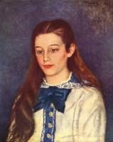 Pierre Auguste Renoir. Portrait Of Therese Berard