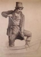 Николай Александрович Ярошенко. В лодке. 1869