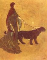 Эдмунд Дюлак. Сказка о рыбаке и история царя Черных островов02