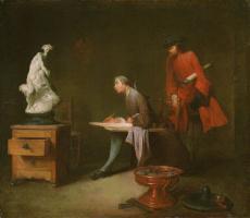 Жан Батист Симеон Шарден. Урок рисования