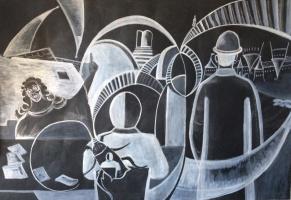 "Andrey Leonidovich Shepel. ""Images Of Kafka's"""