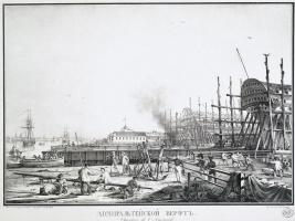 Karl Petrovich Beggrov. Admiralty shipyard