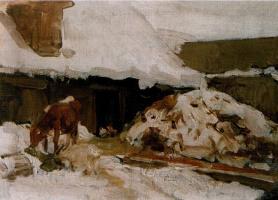 «Этюд с коровой»