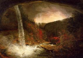 Томас Коул. Водопад