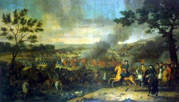 Louis Karavakk. Battle of Poltava