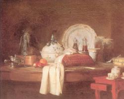Жан Батист Симеон Шарден. Обеденный стол