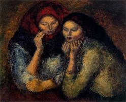Артуро Соуто. Две грустные женщины
