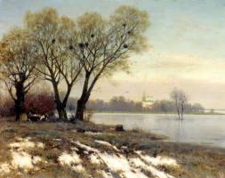 Константин Яковлевич Крыжицкий. Ранняя весна