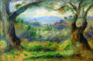 Pierre-Auguste Renoir. Landscape in Colette