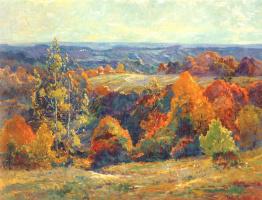 Антон Графф. Осенний пейзаж