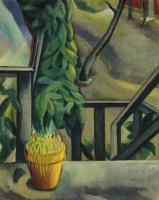 Давид Петрович Штеренберг. Балкон