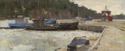 Alexander Evgenievich Kosnichev. Balaam. Ships in the ice