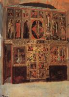 Василий Дмитриевич Поленов. Благовещенский собор. Придел собора Пресвятой Богородицы в главе