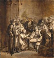 Самюэл ван Хогстратен. Христос спорит с докторами в храме