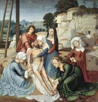 Герард Давид. Снятие с креста