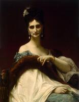 Александр Кабанель. Портрет графини де Келлер