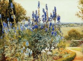 Альфред Парсонс. Синие цветы