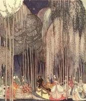 Кей Нильсен. Иллюстрация к  Старинным сказкам