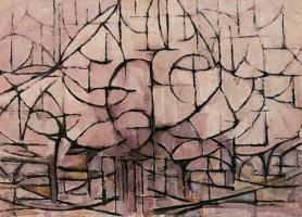 Piet Mondrian. Trees in bloom