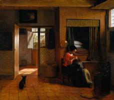 Питер де Хох. Материнские обязанности
