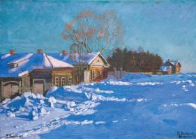 Станислав Юлианович Жуковский. Зима