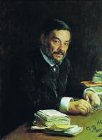 Илья Ефимович Репин. Портрет физиолога И. М. Сеченова