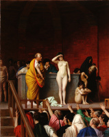 Жан-Леон Жером. Рынок рабов в Риме